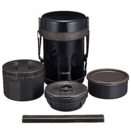 象印 3碗飯不鏽鋼真空保溫便當盒 SL-GG18【小蔡電器】