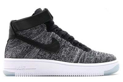 Nike Air Force 1 Flyknit 空軍一號 高筒編織 飛線 紅黑 男女款 潮鞋 百搭【T0024】潮
