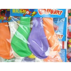 9吋汽球.廣告氣球611-拱門氣球(中3入/吊卡式)/{定10}一吊/24包入(一包3個入)