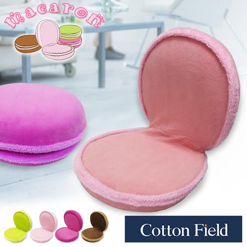 【繽紛】馬卡龍造型多功能折疊椅-蜜粉色