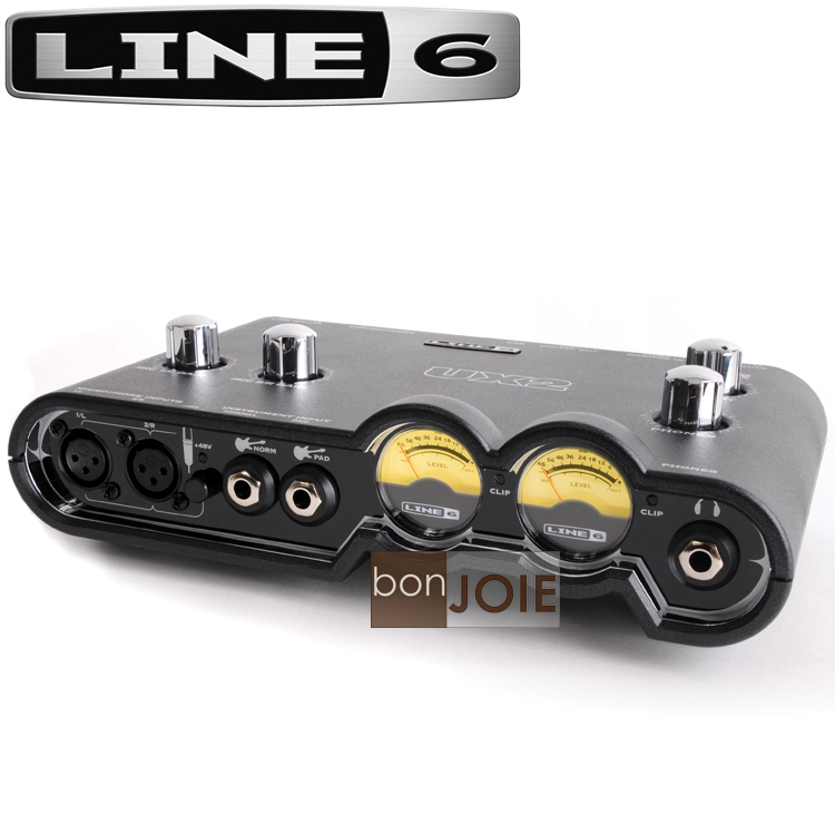 ::bonJOIE:: 美國進口 Line 6 POD Studio UX2 USB 錄音介面 (全新盒裝) 外接式 錄音盒 錄音卡 Line6