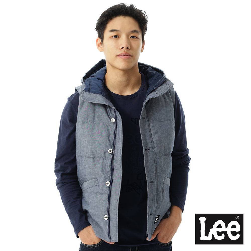 【秋冬商品 TOP ↘5折】Lee 羽絨背心
