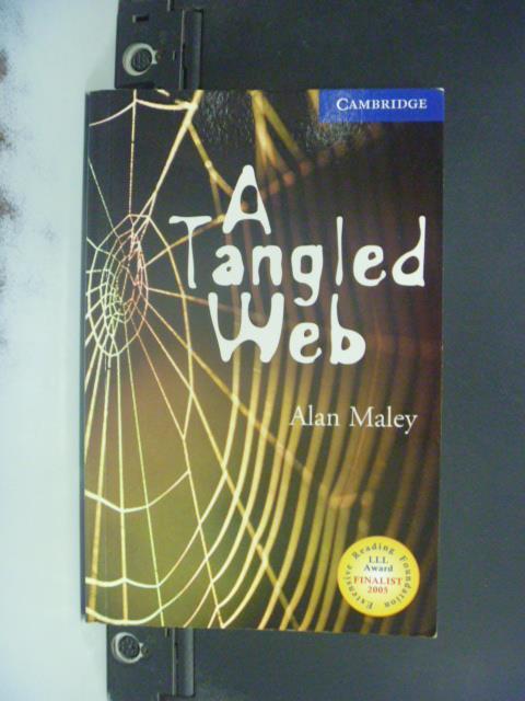 【書寶二手書T8/原文小說_OIU】A Tangled Web_Maley, Alan