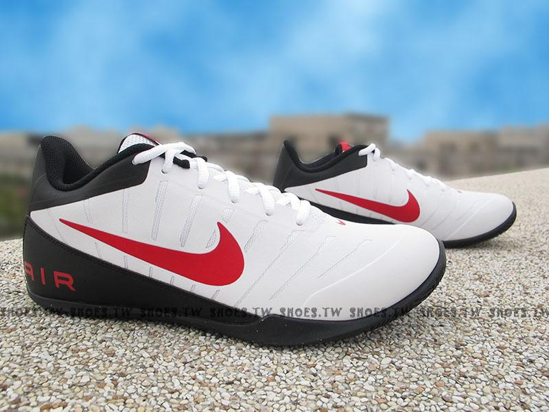 Shoestw【830367-101】NIKE MAVIN LOW2 籃球鞋 白黑紅勾 低筒