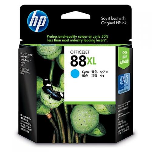 【HP 墨水匣】 C9391A NO.88XL 藍色原廠墨水匣