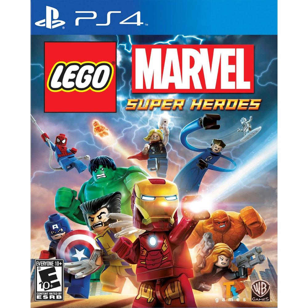 (現貨全新己拆盒損) PS4 樂高:驚奇超級英雄 英文美版 LEGO MARVEL (附人物道具密碼表)
