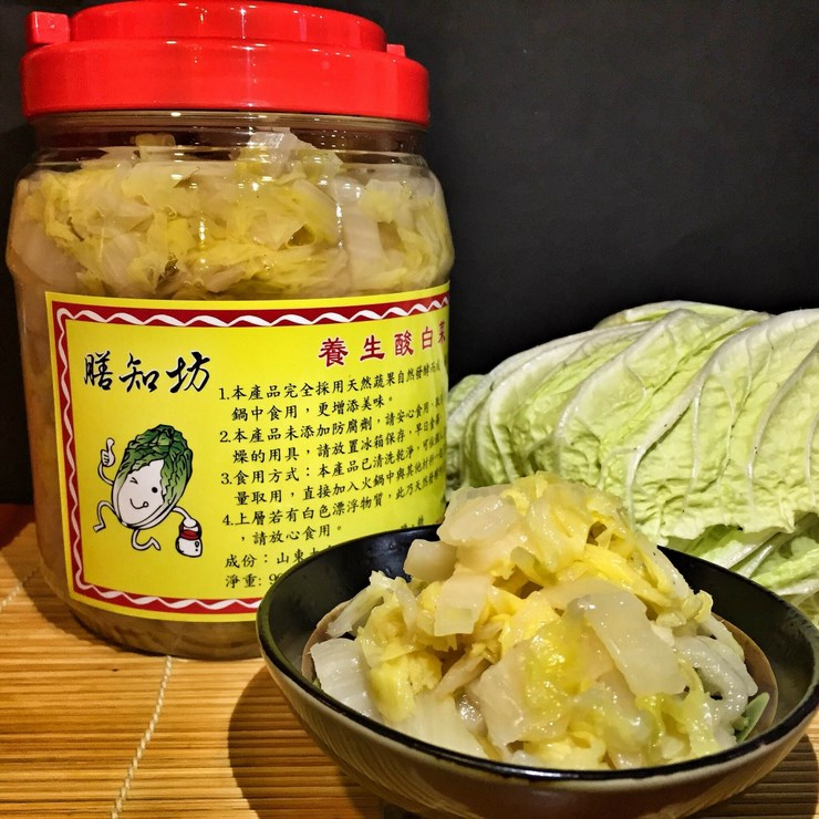 【膳知坊】養生酸白菜 (1150g)