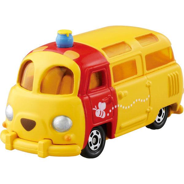 日本直送 Tomica 金屬小汽車 迪士尼 Disne Winnie Pooh 小熊維尼 造型小貨車款 DM-18