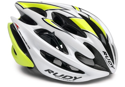 【7號公園自行車】RUDY PROJECT STERLING 安全帽(白黃)