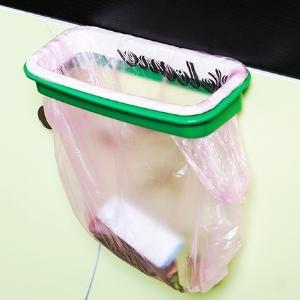 美麗大街【BF050E19E819】可掛式廚房門背式櫥櫃垃圾桶支架垃圾袋收納架垃圾袋架子