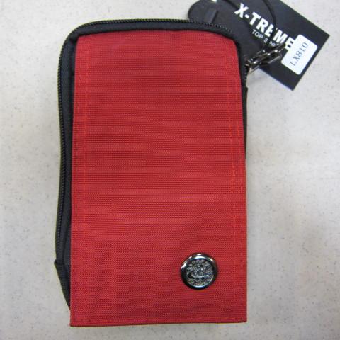 ~雪黛屋~X-TREME 外掛式腰包 二層主袋隨身物品專用包型男必備腰包 防水尼龍布工具65-810紅