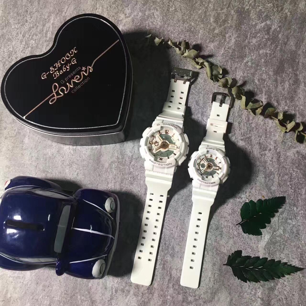 國外代購CASIO G-SHOCK GA110LB & BABY-G BA110LB7A  情侶對錶 雙顯 防水手錶