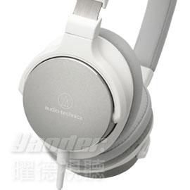 【曜德視聽】鐵三角 ATH-SR5 白色 單邊出線耳罩式耳機 智慧型 線控功能★免運★送收納盒★