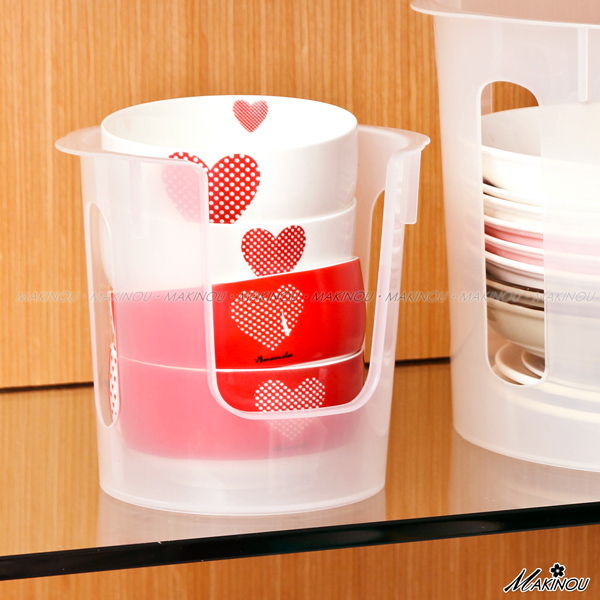 日本MAKINOU 瀝水架|小幫手碗盤輕鬆整理架-小-台灣製|廚房收納 餐具置物架 牧野丁丁
