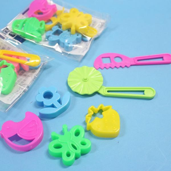 巨倫黏土模具工具組 HS-31 紙粘土模具工具/一小袋6款入{定40}