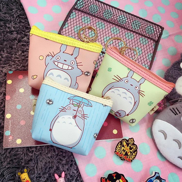 PGS7 日本卡通系列商品 - 龍貓 となりのトトロ Totoro 繽紛鑰匙零錢包 收納包 吉卜力 宮崎駿