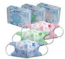 『121婦嬰用品館』藍鷹牌 3D幼童N95口罩5入 - 粉