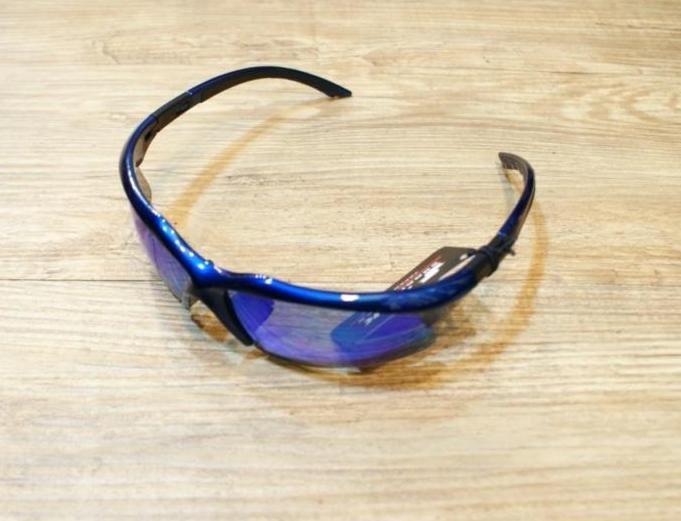 棒球世界 SSK 運動用太陽眼鏡 鏡面彩鈦 藍框