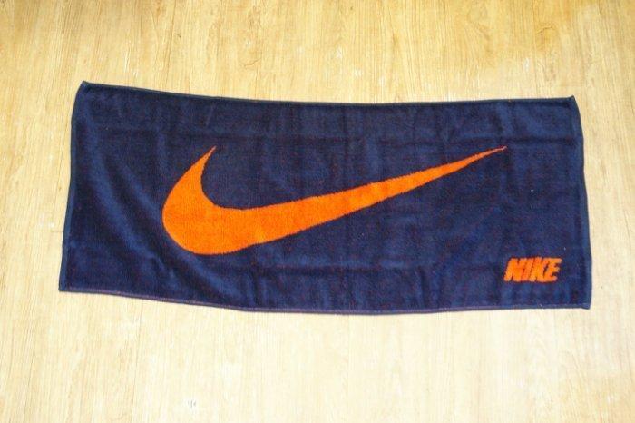 棒球世界 15年NIKE運動毛巾 紅色 特價藍橘配色