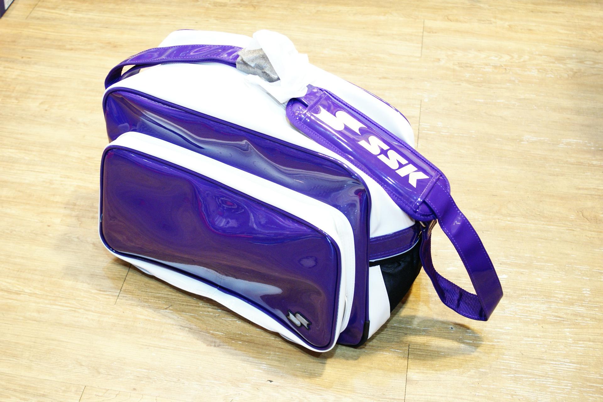 棒球世界全新SSK日本販售款個人裝備袋 紫色 限量販售