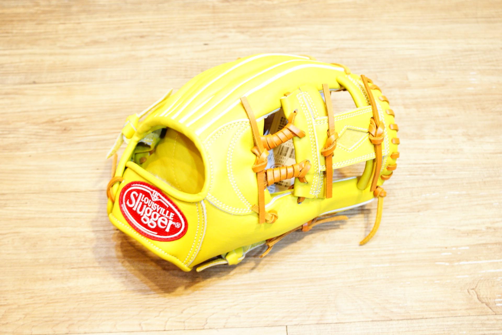 棒球世界全新 Louisville Slugger TPX 金剛系列 硬式棒壘手套 特價 內野工字 檸檬黃配色