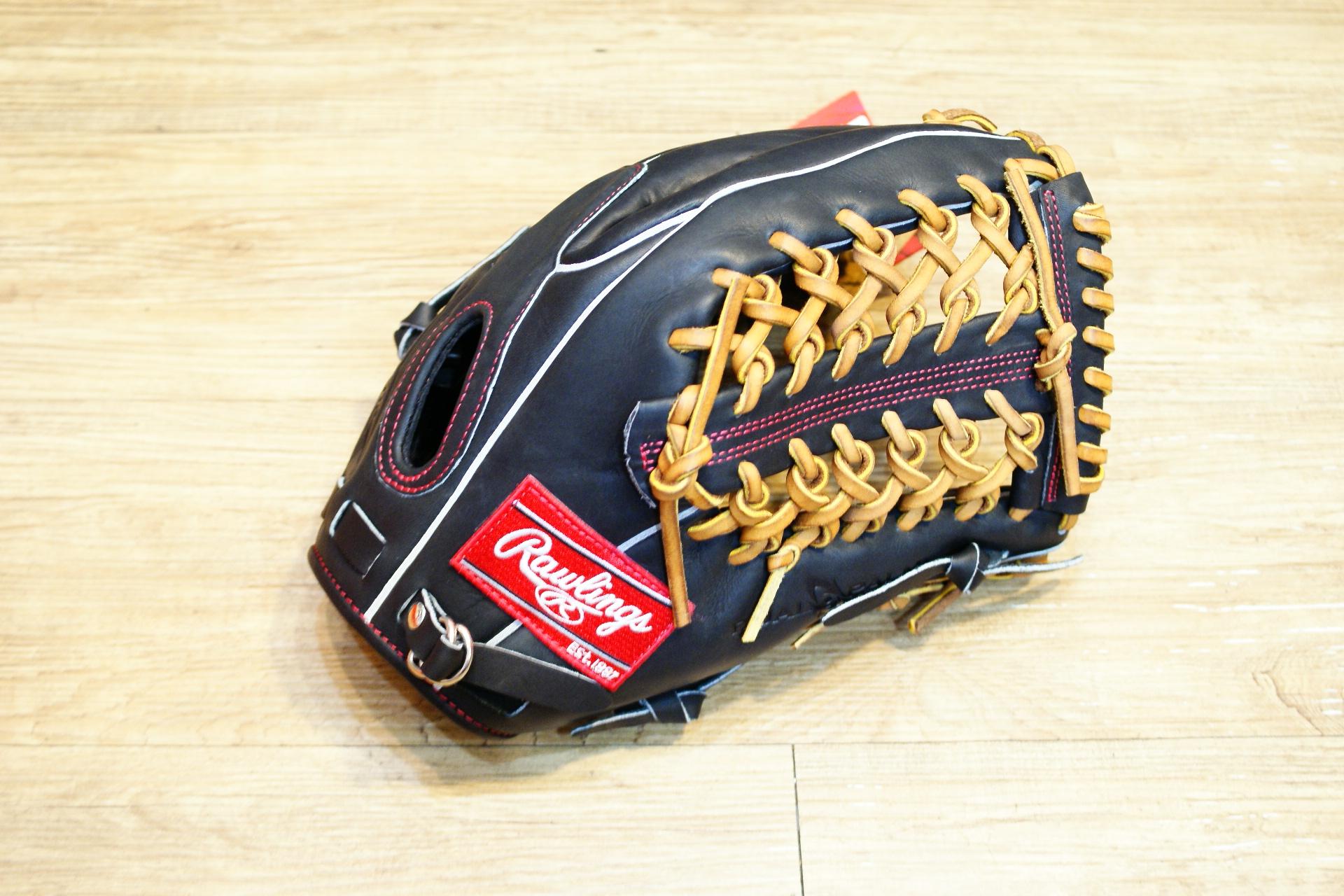 棒球世界全新日本進口Rawlings硬式 棒球用手套 12.75吋 特價