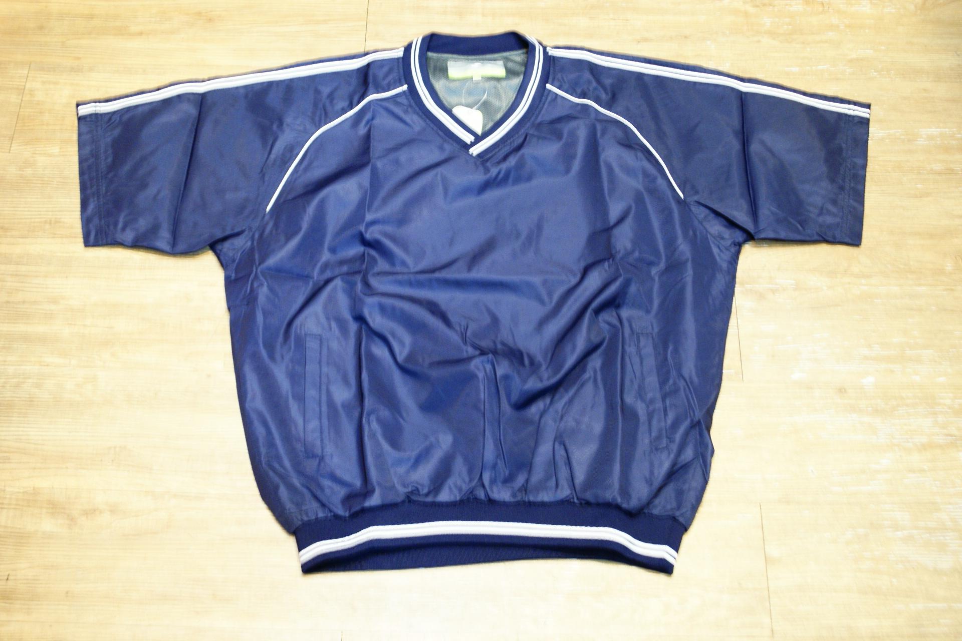 棒球世界全新SSK日本進口高質感短袖風衣 丈青色特價