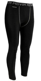 棒球世界 【MOVIN】PRO 台灣製專業緊身長褲 慢跑褲 特價 彈力包覆排汗舒適材質