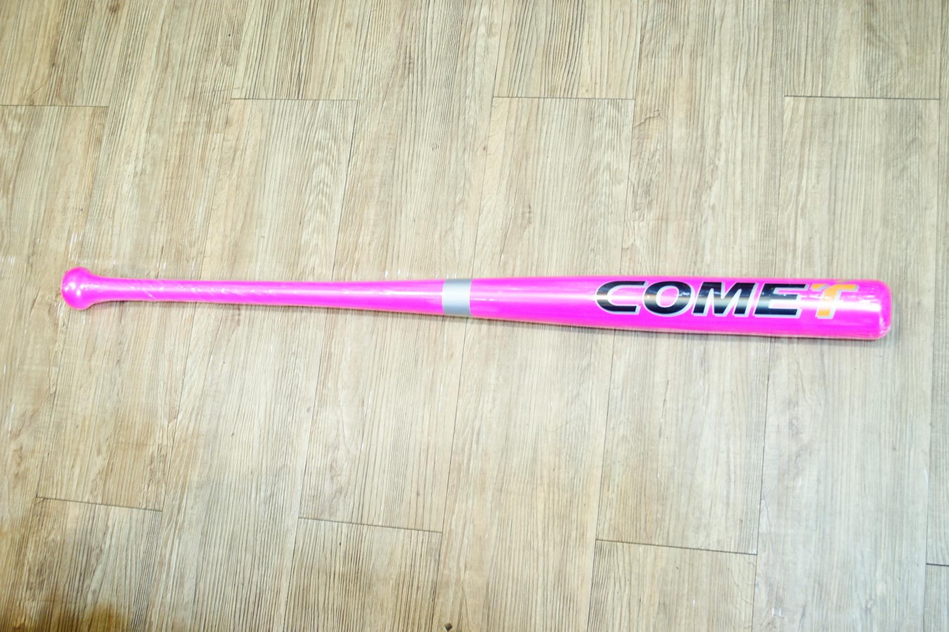 棒球世界 全新COMET黃樺木壘球棒 耐打 不易斷 特價2000/支 母親節限定版