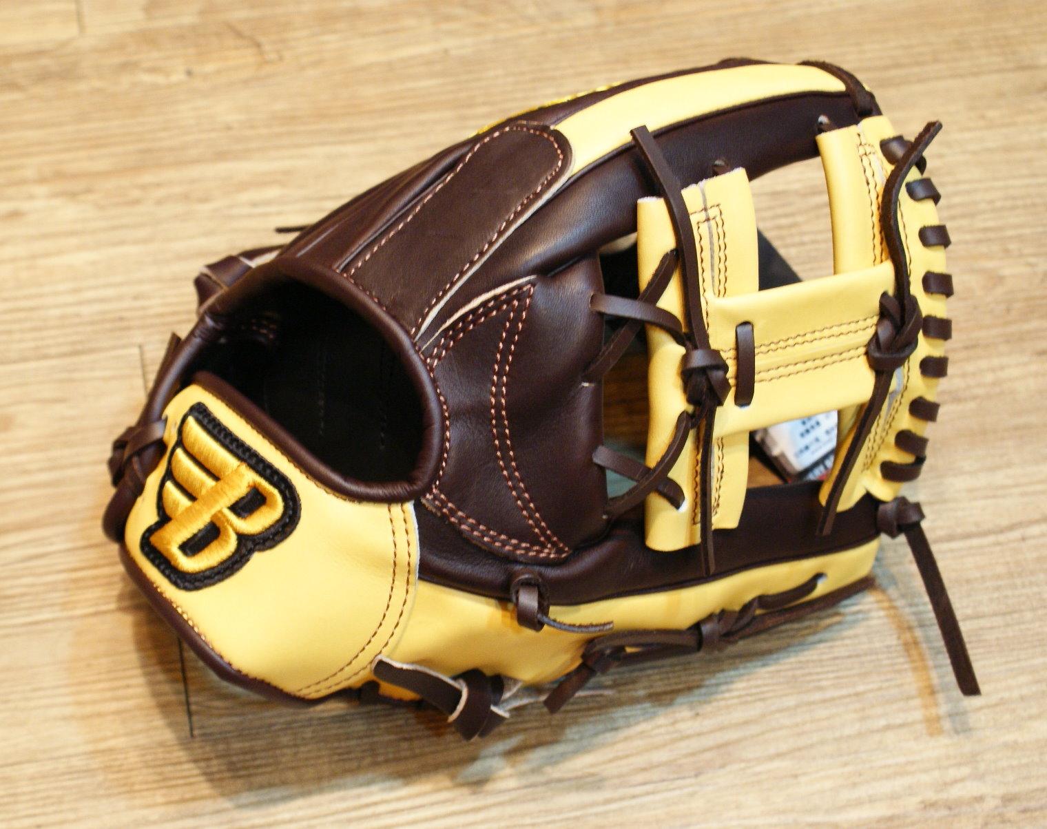 棒球世界 BRETT布瑞特『魂』系列美系雙色硬式棒球手套 特價 11.5吋工字檔