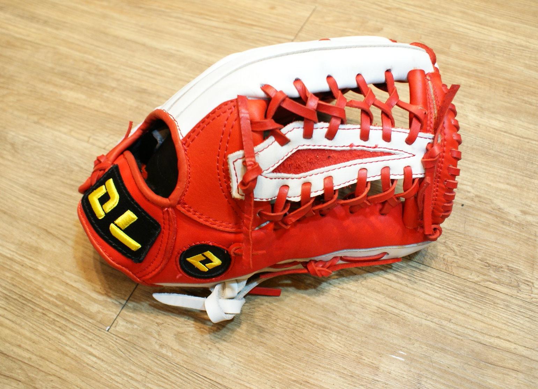 〈棒球世界〉DL外野網狀訂製款 13吋棒壘手套 特價 加送手套袋/