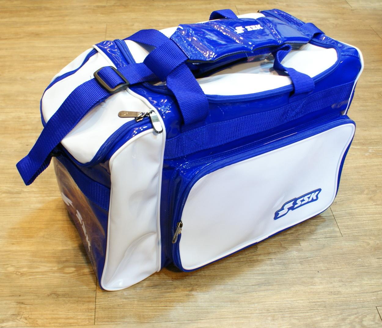 棒球世界 SSK13年新款個人裝備袋 特價 白藍樣式配色