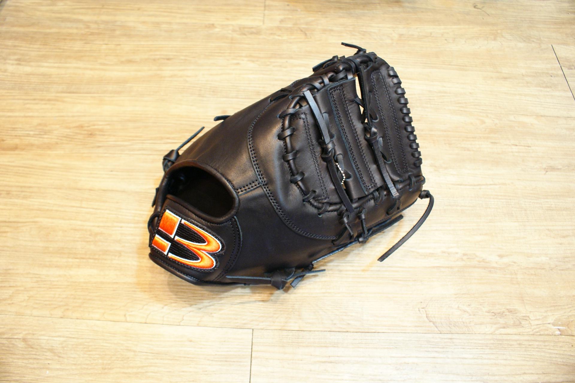 棒球世界 BRETT【神鬼戰士】獨家款職業級牛革棒球一壘手套 特價 內野