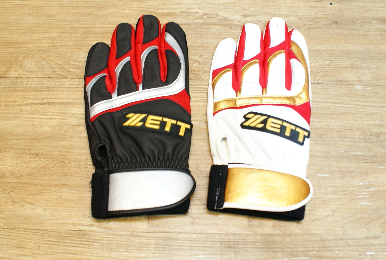 棒球世界 全新13年 ZETT 綿羊皮打擊手套 特價 顏色裁斷設計皆同日本