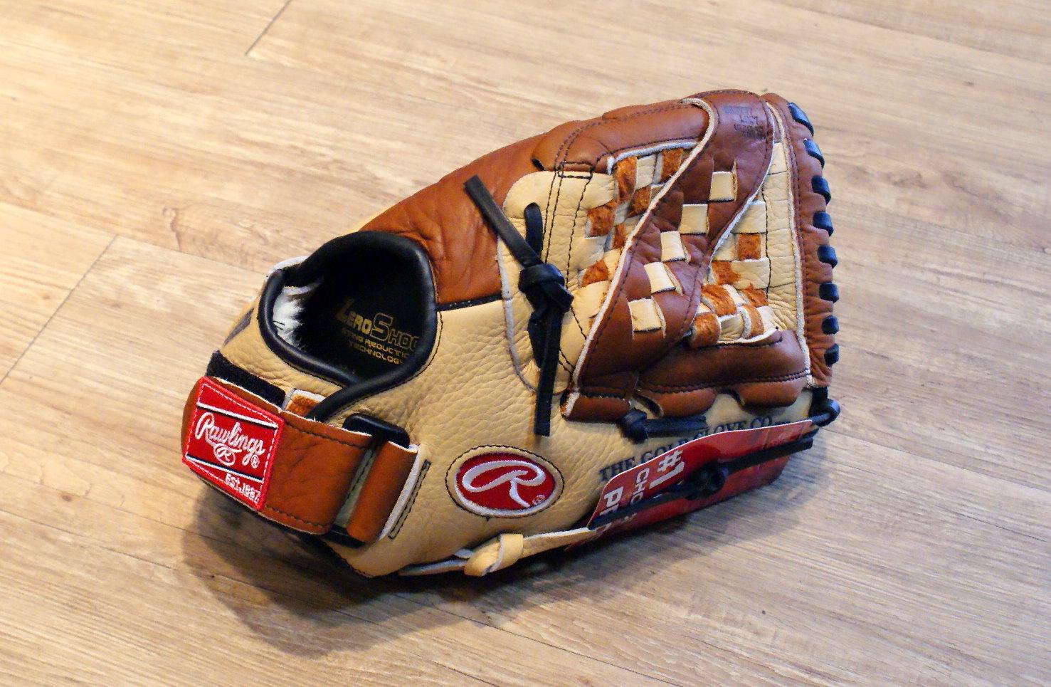 """棒球世界 全新美國進口 Rawlings 冠軍系列 CS120 12"""" 棒壘球手套"""