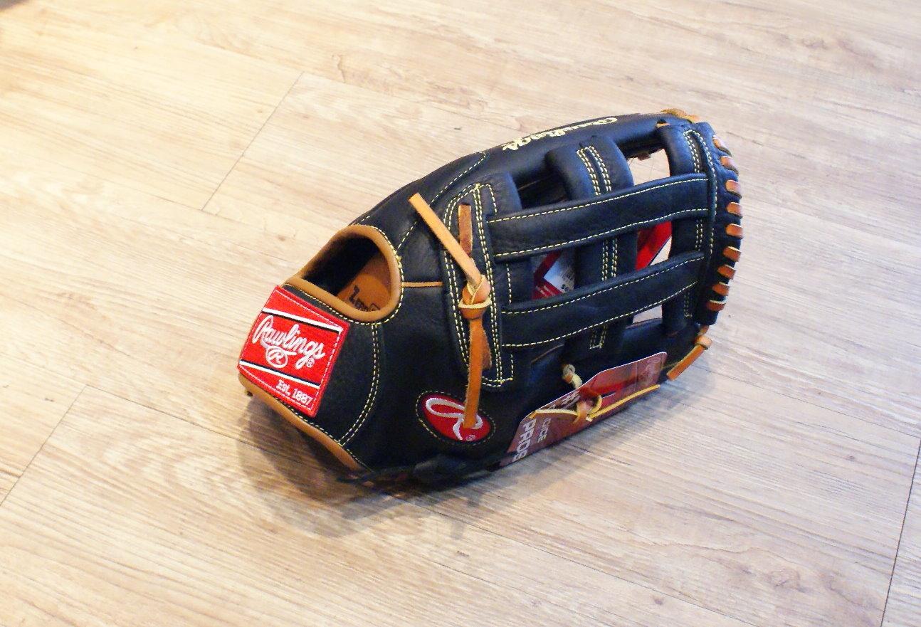 """棒球世界全新 Rawlings RPS125H 12.5"""" 【雙十字球擋】高級棒壘球手套"""
