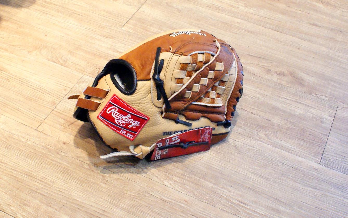 """棒球世界全新美國進口 Rawlings 冠軍系列 CS125 12.5"""" 棒壘球手套"""