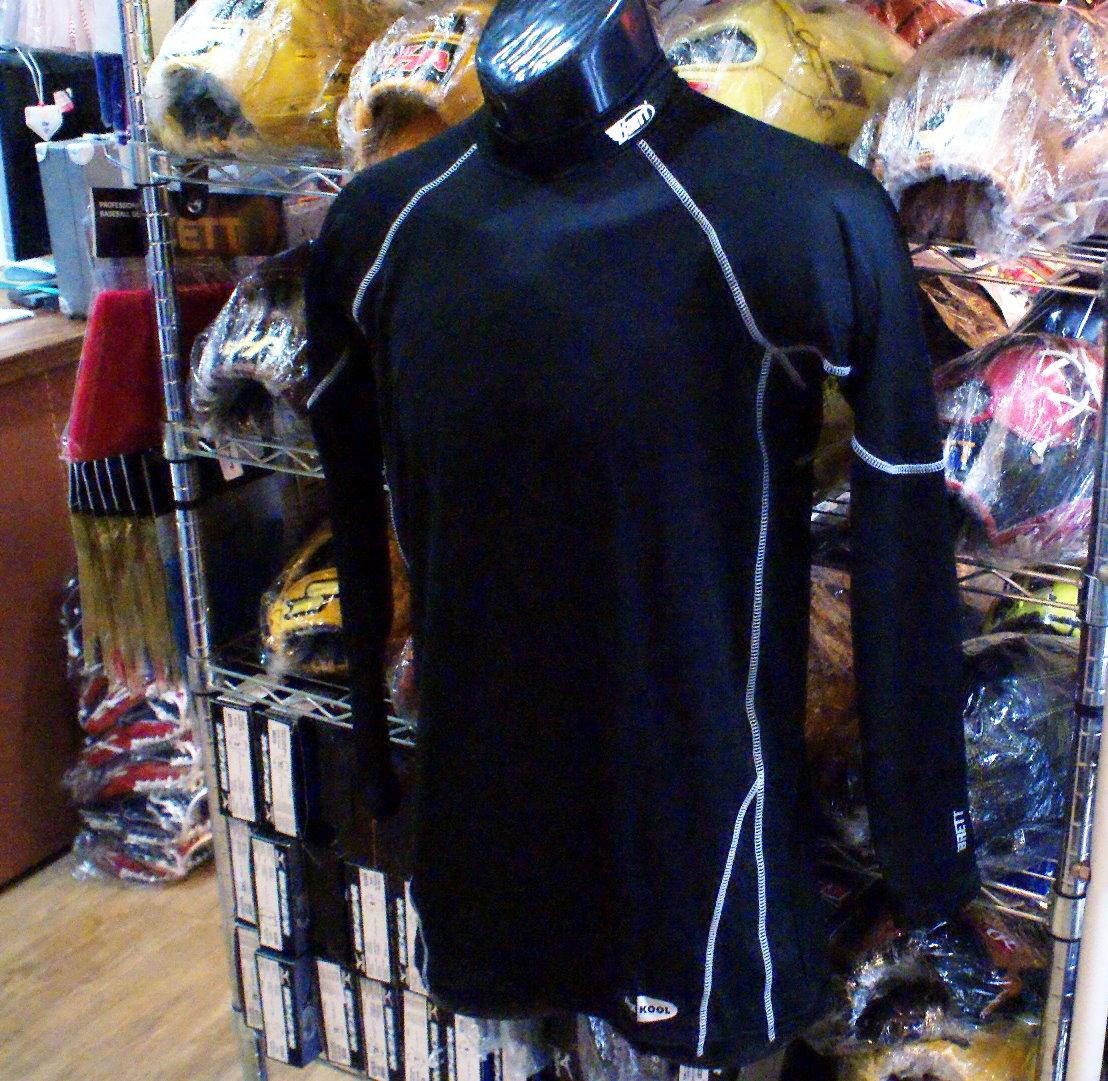 棒球世界 BRETT 新款3D棒壘專用長袖緊身衣 特價