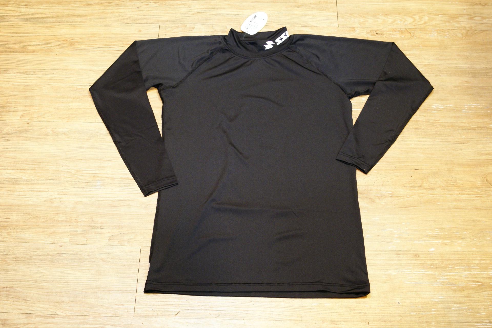棒球世界全新SSK長袖緊身衣 黑色款式 特價