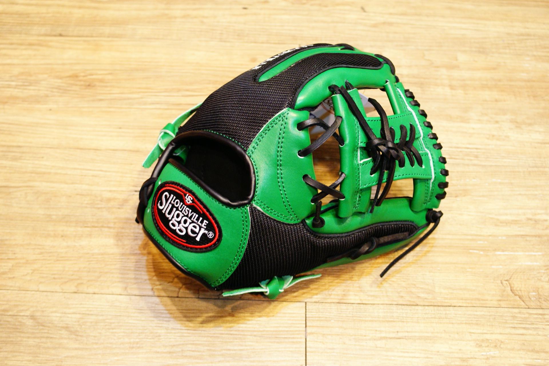 棒球世界 Louisvill Slugger 路易斯威爾TPX LS AIR布織布 內野工字棒壘球手套 特價 黑綠