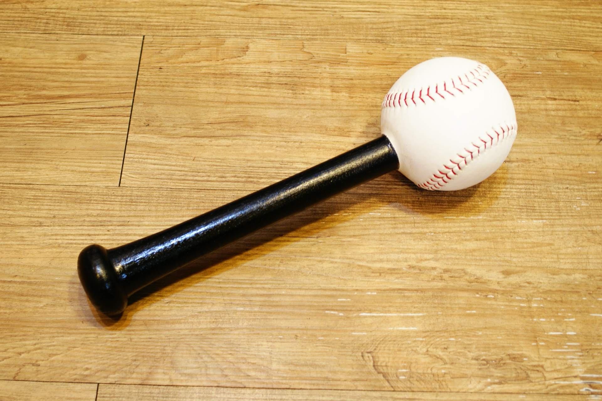 棒球世界全新壘球手套用整型槌 特價