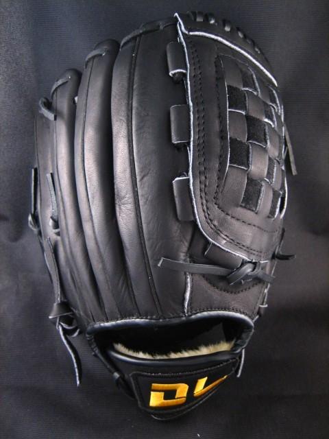 〈棒球世界〉DL166 棒壘球手套 最平價的真皮手套