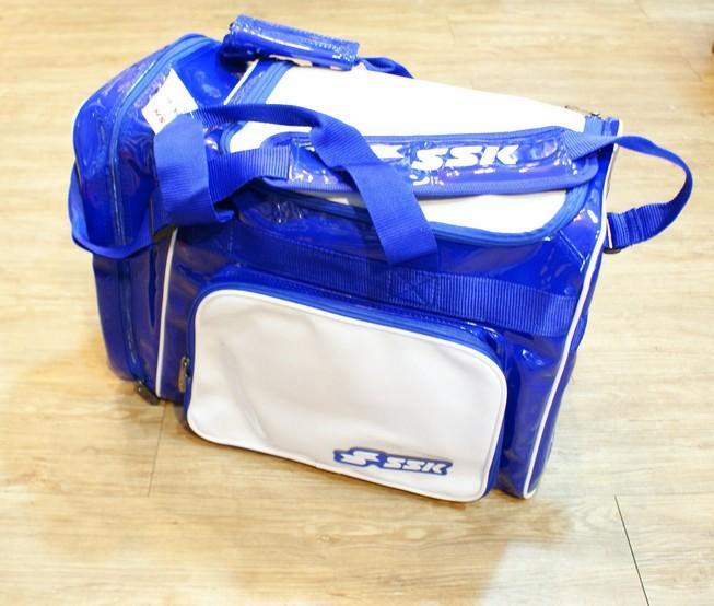 棒球世界 SSK13年新款個人裝備袋 特價 白藍配色