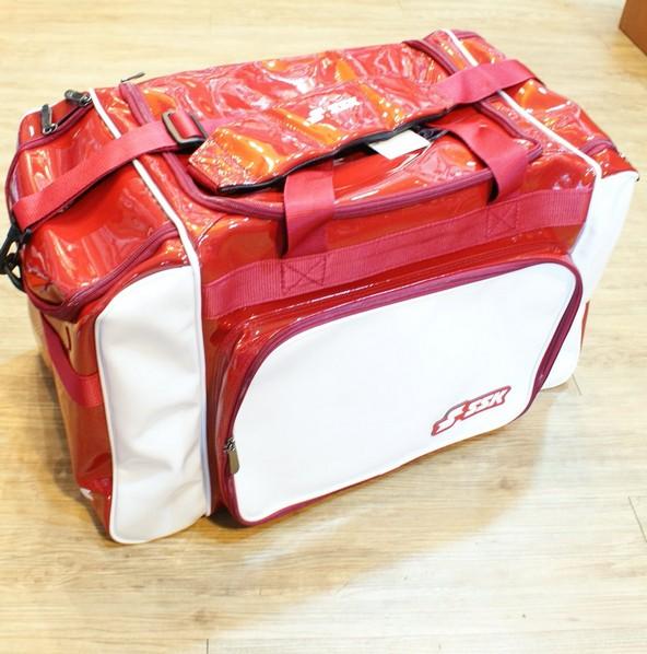 棒球世界 SSK13年新款個人遠征裝備袋 特價 白紅配色