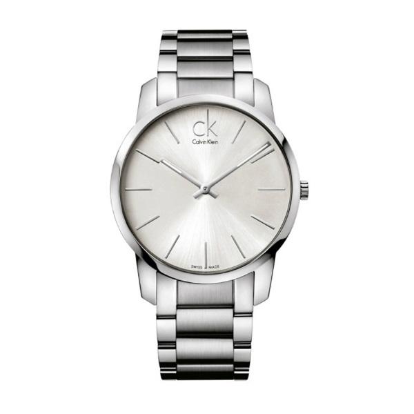 CK CITY(K2G21126)城市經典簡約腕錶/白面43mm