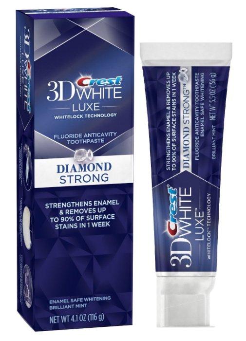 【彤彤小舖】Crest 3D White Luex 奢華亮白牙膏系列 4.1oz/116g  美國進口