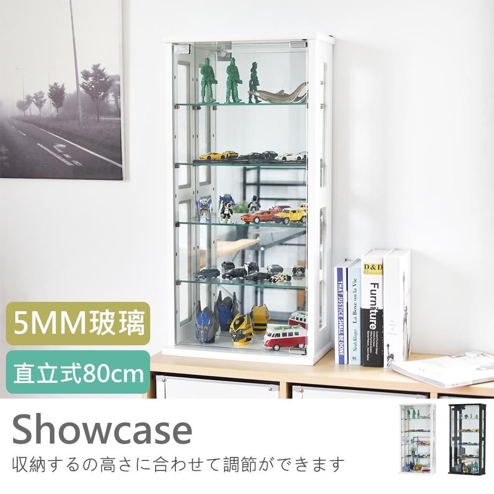 納櫃 展示櫃【X0022】直立式80cm玻璃展示櫃/外銷日本款MIT台灣製 完美主義