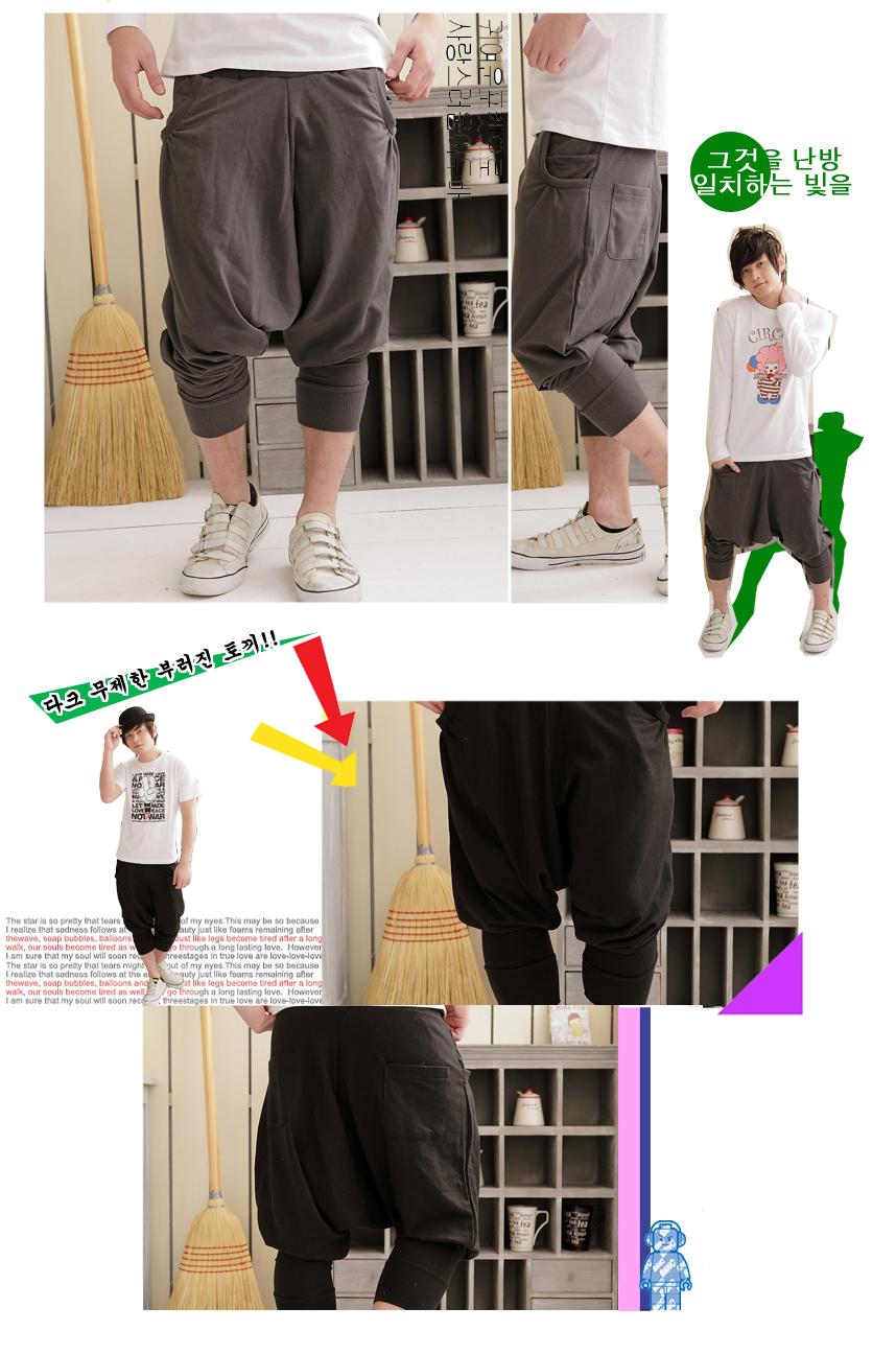 三色三段.熱銷新品.韓潮版型基本款飛鼠褲 .側邊口袋.MIT台灣製.可單買【M3169】艾咪E舖