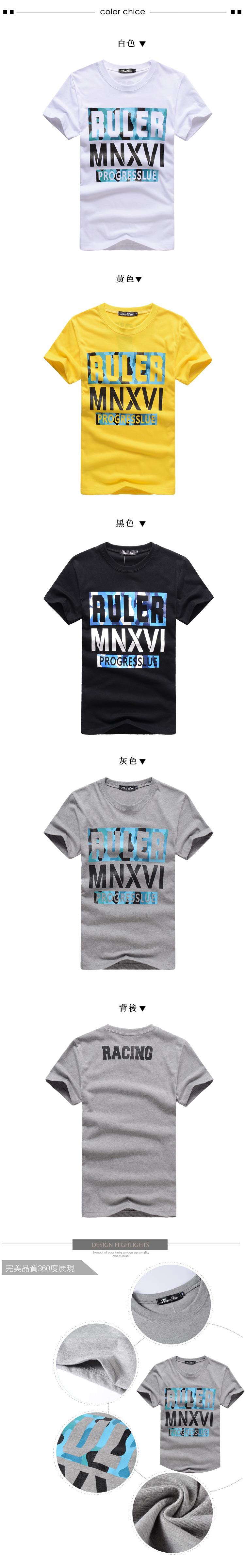 T恤.短袖T恤.情侶T恤.MIT台灣製.RULER藍色迷彩印花【A35022】艾咪E舖.最佳情侶裝