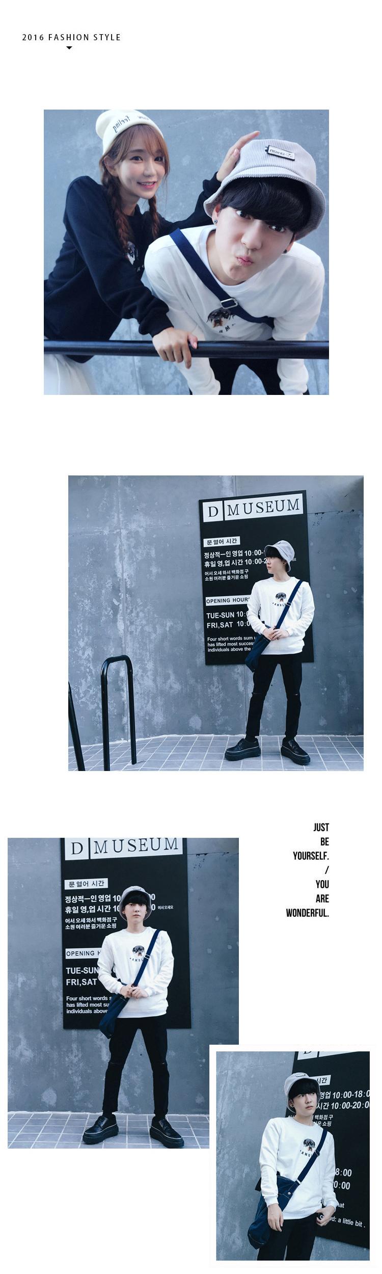 ◆快速出貨◆刷毛T恤 圓領刷毛 情侶T恤 暖暖刷毛 MIT台灣製.英文字小狗頭【YS0355】艾咪E舖=